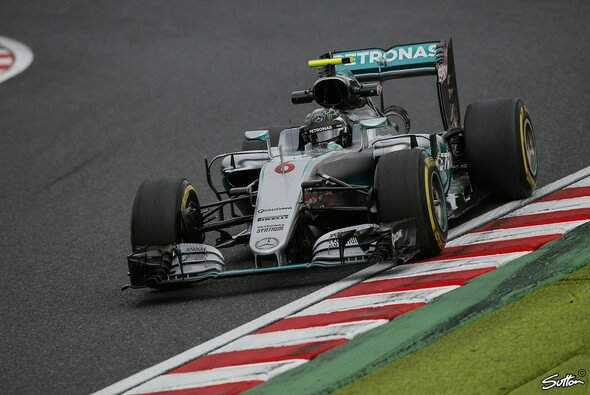 Nico Rosberg setzte zweimal die Bestzeit am Freitag in Japan - Foto: Sutton