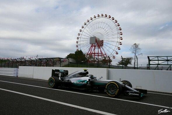 Nico Rosberg steht in Suzuka auf der Pole Position - Foto: Sutton