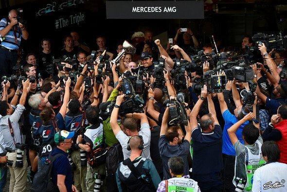Noch nie stand Nico Rosberg so sehr im Fokus wie jetzt - Foto: Sutton