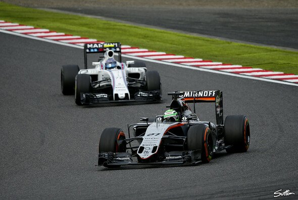 Force India hat die Nase noch vor Williams - Foto: Sutton