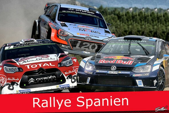 Wer holt sich 2016 den Sieg bei der Rallye Spanien? - Foto: Sutton/Motorsport-Magazin.com