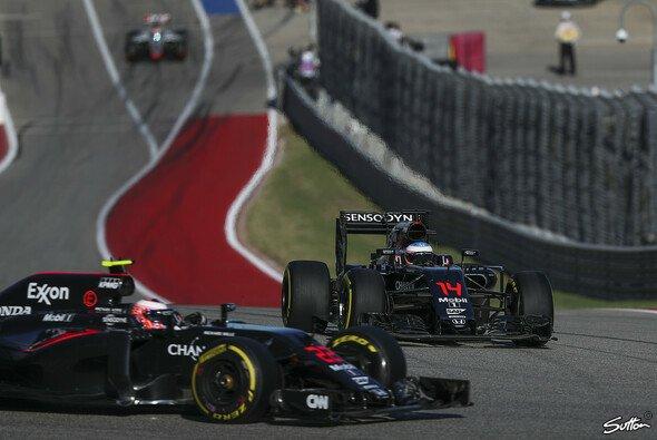 McLaren kam in Austin mit beiden Autos in die Punkte - Foto: Sutton
