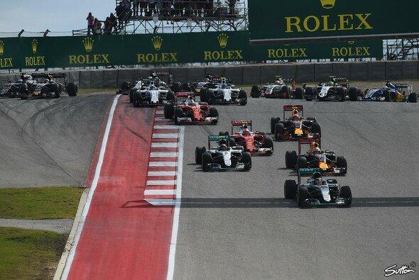 Der US Grand Prix 2016 sorgte teilweise für kuriose Szenen - Foto: Sutton