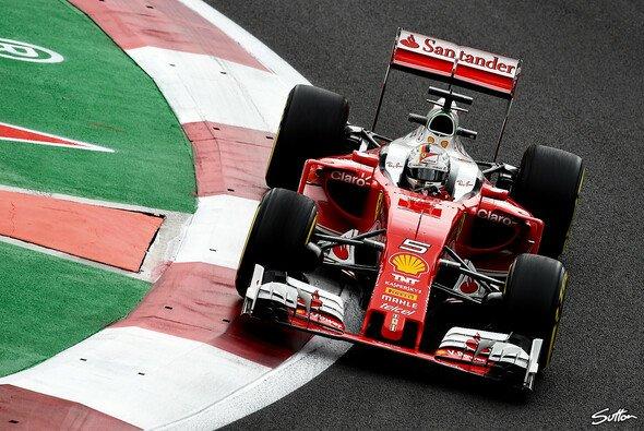 Sebastian Vettel wurde in Mexiko Dritter - Foto: Sutton