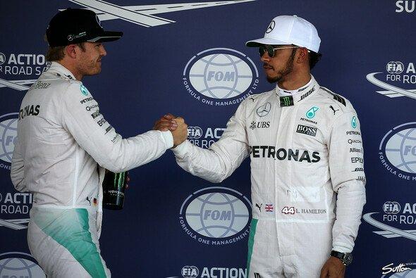 Neuauflage des F1-Duells unter anderen Vorzeichen: Rosberg gegen Hamilton - Foto: Sutton