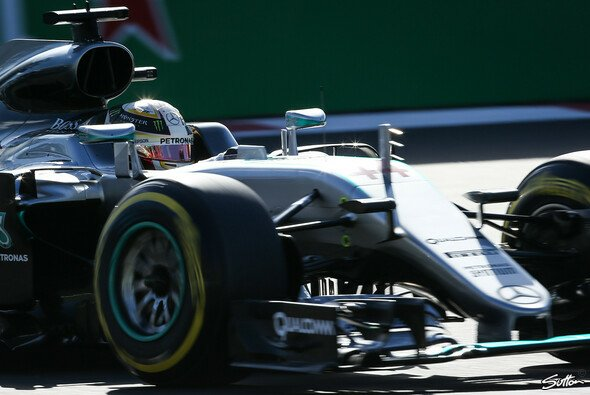 Hamilton siegte in Mexiko souverän - Foto: Sutton
