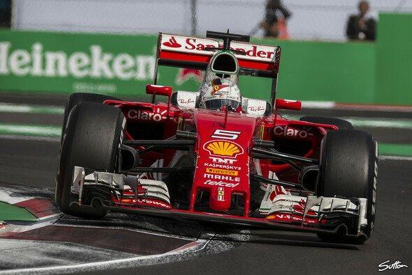 Ferrari legte in Mexiko eine starke Pace an den Tag - Foto: Sutton