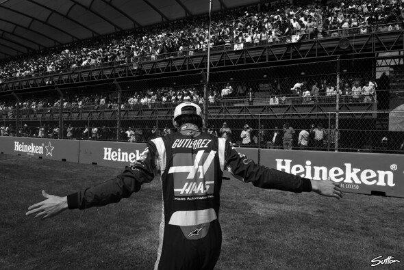 Für Esteban Gutierrez geht es nach dieser Saison bei Haas nicht weiter - Foto: Sutton