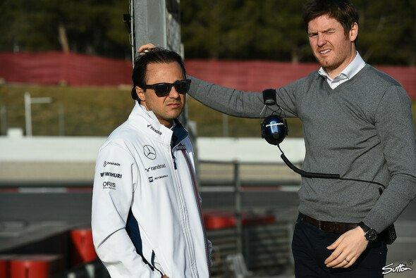 Felipe Massa und Rob Smeldey - Foto: Sutton