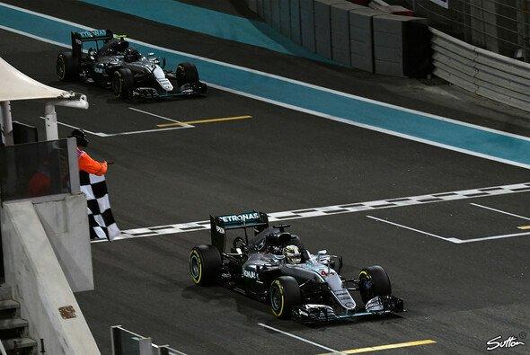 Bei der Zieldurchfahrt in Abu Dhabi waren 7,45 Millionen Zuschauer live dabei - Foto: Sutton
