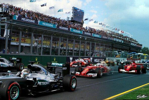 Was macht Liberty Media aus der Formel 1? - Foto: Sutton