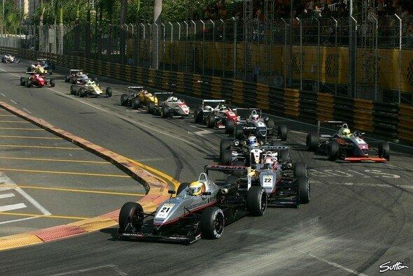 Lewis Hamilton liebt Macau - gewinnen konnte er das Hauptrennen aber nie - Foto: Sutton
