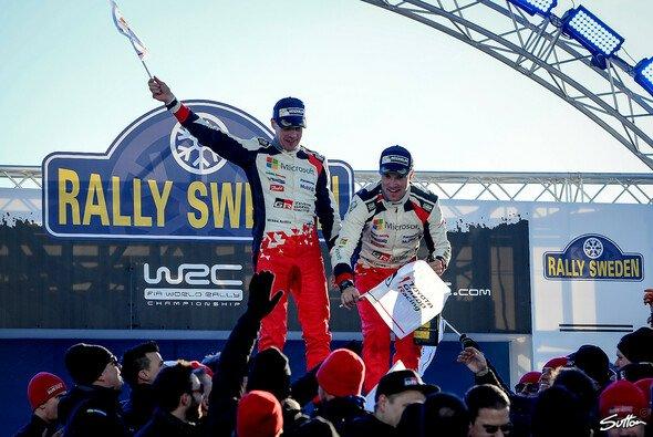 Toyota erwartet bei der Rallye Mexiko eine vollkommen neue Herausforderung - Foto: Sutton