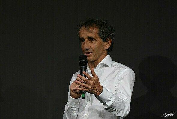 Alain Prost stand uns Rede und Antwort - Foto: Sutton