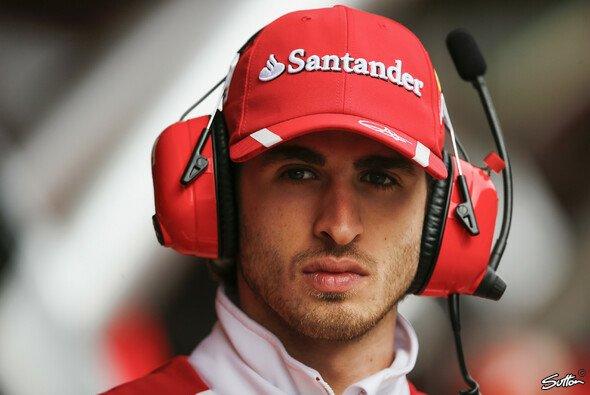 Ferrari bringt Antonio Giovinazzi für den Rest der Saison als Freitagsfahrer bei Haas unter - Foto: Sutton