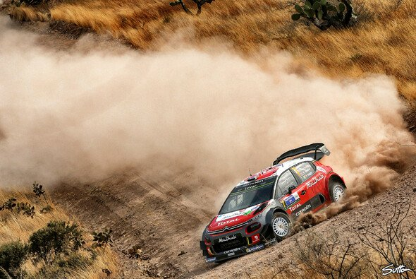 Kris Meeke feiert bei der Rallye Mexiko seinen vierten Karrieresieg - Foto: Sutton