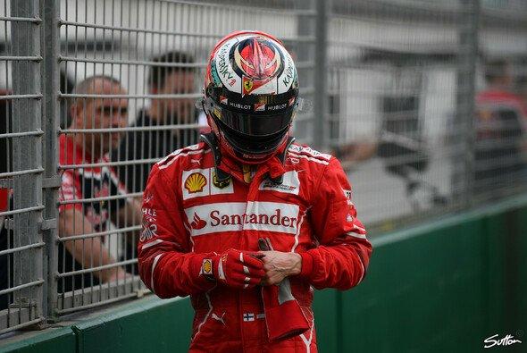 Kimi Räikkönen schaffte es im Australien-Qualifying nur auf den vierten Platz - Foto: Sutton