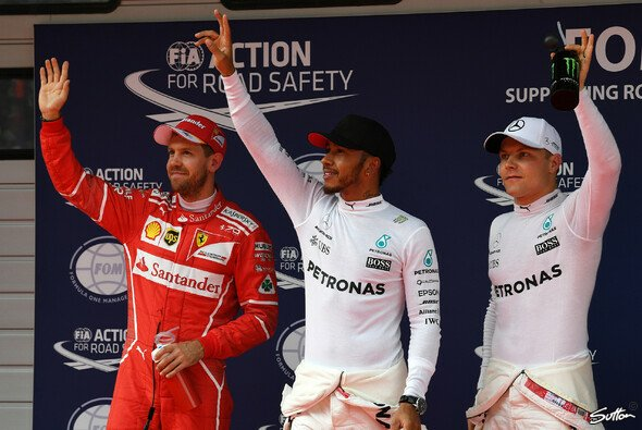 Die Top-3 im Qualifying zum China GP - Foto: Sutton