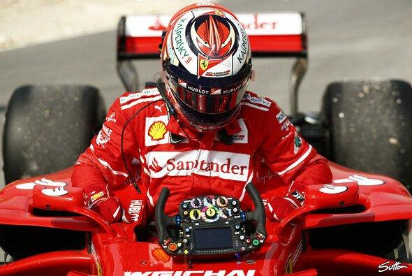 Ferrari setzte in Bahrain beide Trainingsbestzeiten, kämpfte jedoch auch mit der Technik - Foto: Sutton