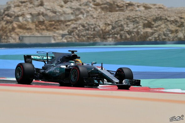 Lewis Hamilton in Aktion - Foto: Sutton