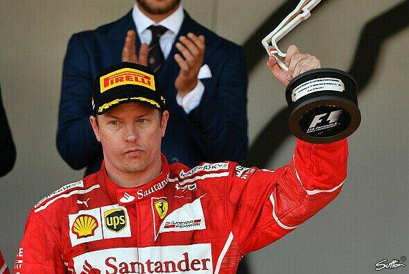 Kimi Räikkönens versteinertes Gesicht in Monaco 2017 blieb im Gedächtnis - Foto: Sutton