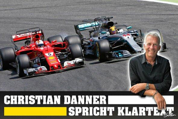 Christian Danner nimmt in seinem Klartext zu Sebastian Vettel und Lewis Hamilton kein Blatt vor den Mund - Foto: Sutton