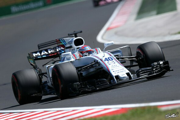 Paul Di Resta startet in Ungarn mit der Nummer 40 auf dem Williams - Foto: Sutton