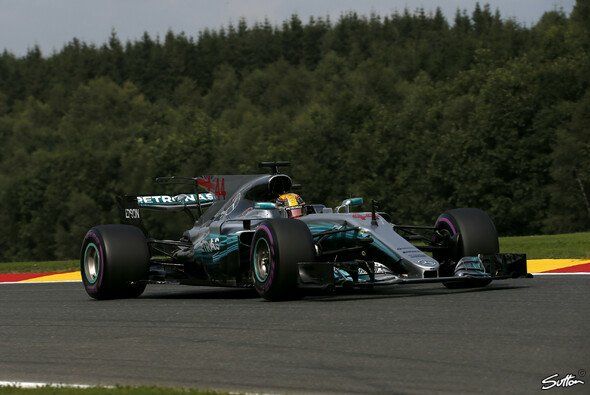 Mercedes brachte in Spa bereits das Motoren-Update - Foto: Sutton