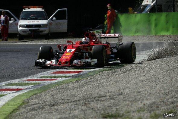 Sebastian Vettel und Ferrari müssen in Monza noch den schnellsten Weg finden - Foto: Sutton