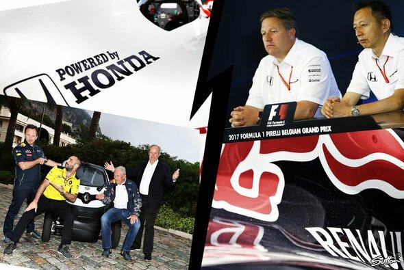 In der Formel 1 geht es rund: McLaren, Renault, Honda, Toro Rosso und Sainz in den Hauptrollen - Foto: Sutton/Honda/Renault