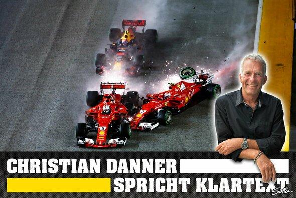 Christian Danner sieht keinen der beteiligten Piloten in der Schuld - Foto: Sutton/Motorsport-Magazin.com