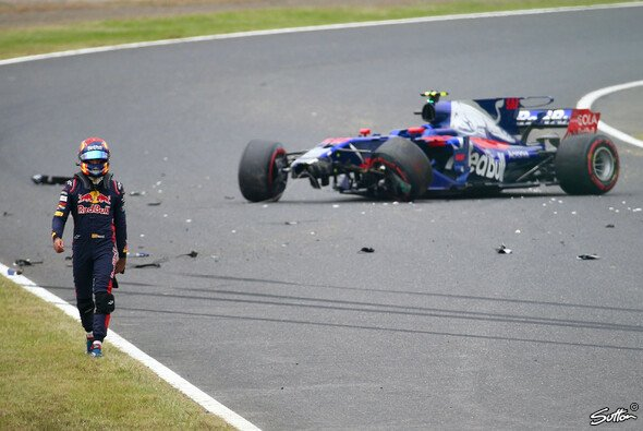 Beim Japan GP in Suzuka sorgte Carlos Sainz für einen der größten Flops des Wochenendes - Foto: Sutton