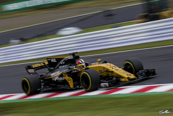 Nico Hülkenberg klagt in Japan über die Balance seines Renault - Foto: Sutton
