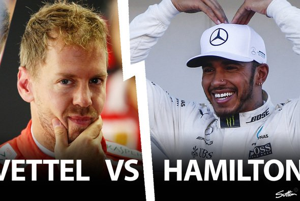 Lewis Hamilton kann sich schon heute vor Sebastian Vettel als Formel-1-Weltmeister durchsetzen - Foto: Sutton