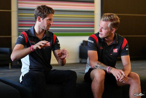 Romain Grosjean und Kevin Magnussen machten 2017 nicht nur auf der Strecke auf sich aufmerksam - Foto: Sutton