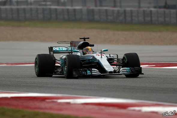Lewis Hamilton fuhr die Bestzeit im 1. Training in Austin - Foto: Sutton