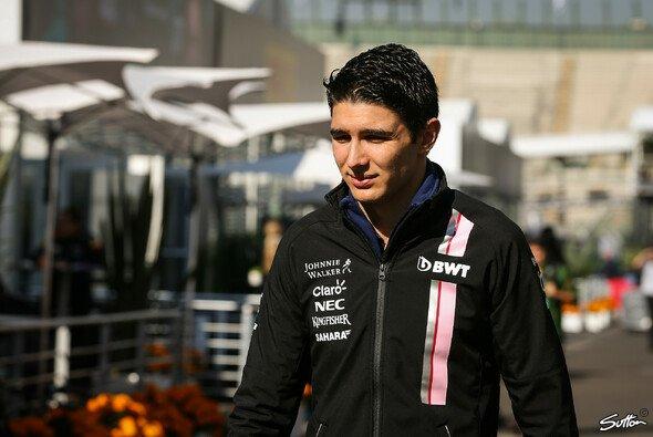 Für Estaban Ocon war die Reise zum Mexiko GP der Formel 1 keine sehr angehme - Foto: Sutton