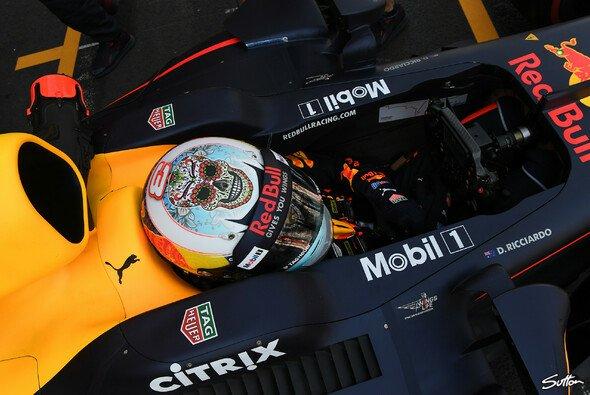 Ricciardo geriet im Mexiko-Qualifying gegenüber Red-Bull-Teamkollege Verstappen deutlich ins Hintertreffen - Foto: Sutton