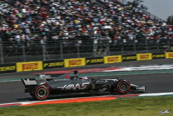 Romain Grosjean erlebte in Mexiko nur wenige Minuten live im Cockpit - Foto: Sutton