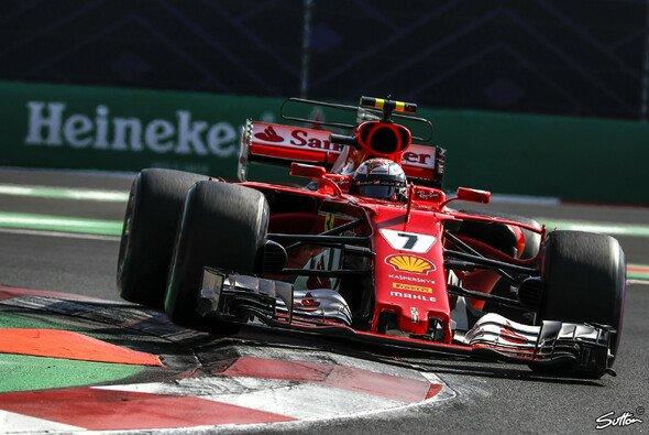 Kimi Räikkönen fuhr in Mexiko auf das Podium - Foto: Sutton