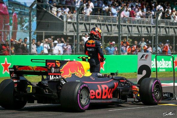 Max Verstappen musste sich mit Rang zwei begnügen - Foto: Sutton