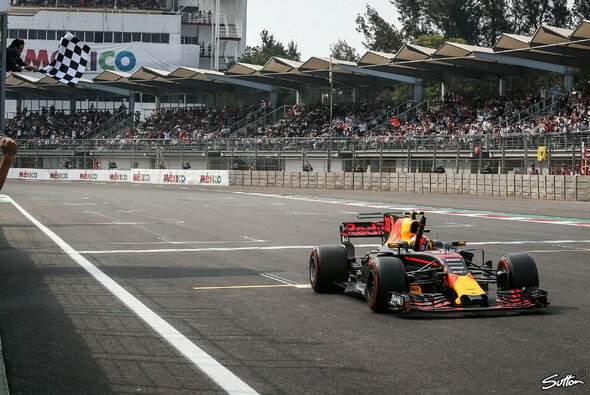 Max Verstappen holte sich den Sieg beim Mexiko GP überlegen - Foto: Sutton