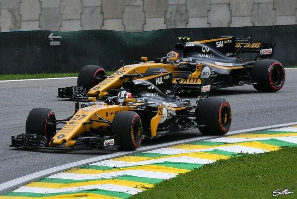 Renault machte in Brasilien im Kampf um Platz sechs der Konstrukteurs-WM bisher die beste Figur - Foto: Sutton