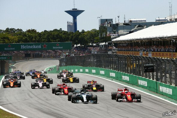 Die Formel-1-Saison 2018 biegt in Brasilien auf die Zielgerade ein - Foto: Sutton