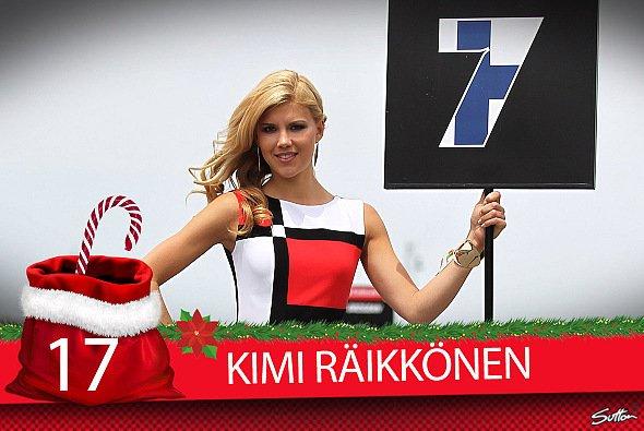 Kimi Räikkönen erwischte 2017 vor allem einen durchwachsenen Saisonstart - Foto: Sutton