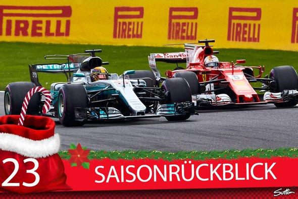 Die Formel-1-Saison 2017 war über weite Strecken spannend - Foto: Sutton