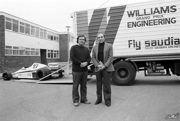 Das war der Launch des ersten Williams-F1-Autos - Foto: Sutton