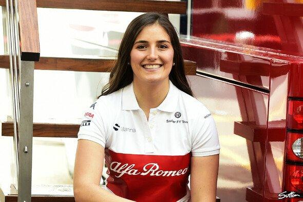 Tatiana Calderon will zur Saison 2019 in die Formel 2 aufsteigen - Foto: Sutton