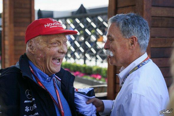 Niki Lauda ist aus der Formel 1 nicht wegzudenken - Foto: Sutton
