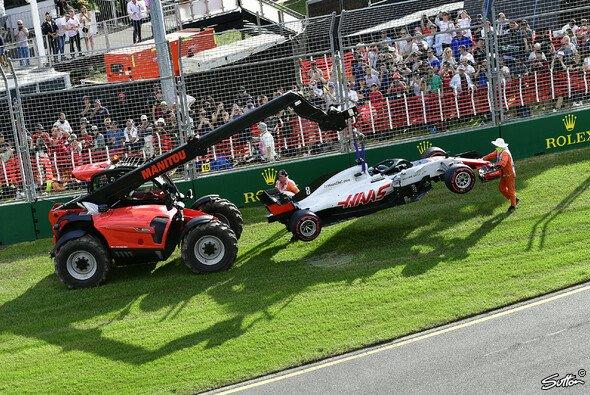 Haas hat aus den Boxenstopp-Vorfällen in Australien Konsequenzen für das Rennen in Bahrain gezogen - Foto: Sutton